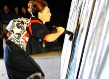 城下町宮津7万石「和火2008」 Performance for « Japanese fall 2008 » – Joukamachi, Miyazu, Kyoto prefecture