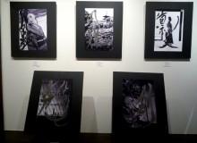 京都町家ランデヴーギャラリーにて写真家廣瀬氏とのコラボ Exhibition (collaboration with photographer Hidehiko Hirose) – Rendez-vous des Artistes Gallery, Kyoto